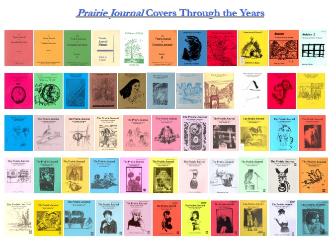 Click For All Prairie Journal Covers Through the Years